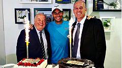 Rafa Nadal vuelve a celebrar otro cumpleaños en París y como favorito en Roland Garros