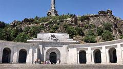 """Los visitantes del Valle de los Caídos abogan por """"dejar las cosas como están"""""""