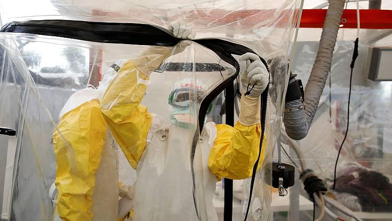 Anticuerpos para evitar el contagio del Ébola