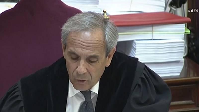 """El fiscal concluye en la fase final del juicio del 'procés' que los líderes independentistas sabían que habría """"enfrentamiento"""" el 1-O"""