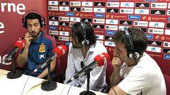 """Radiogaceta de los deportes - Parejo: """"Pongo la mano en el fuego por mí y mis compañeros"""""""