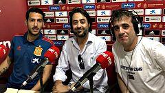 """Radiogaceta de los deportes - Entrevista completa - Parejo: """"Pongo la mano en el fuego por mí y mis compañeros"""""""
