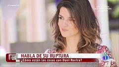 """Clara Lago sobre su ruptura con Dani Rovira: """"Hay mucho amor, cariño y respeto"""""""