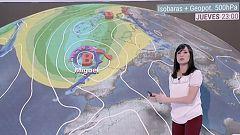 La lluvia y el viento ponen en alerta este jueves al noroeste peninsular