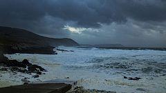 Precipitaciones fuertes o persistentes en el oeste de Galicia
