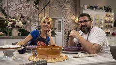 Hacer de comer - Carillas con arroz y tarta de Santiago