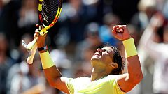 Rafa Nadal jugará su final número 12 en París tras vencer a Federer