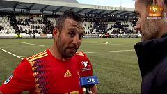 """Cazorla, tras volver a vestir 'La Roja': """"Da gusto jugar con la selección"""""""