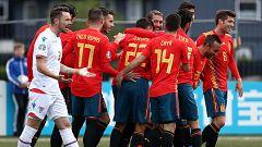 Resumen del Islas Feroe 1-4 España