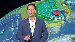 Viento fuerte en Canarias y temperaturas en ascenso en la península