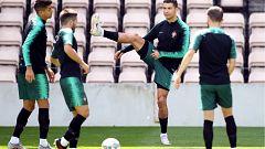 Ronaldo, con Holanda en el punto de mira tras su exhibición contra Suiza