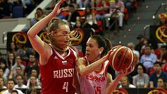Baloncesto - Gira Preparación Campeonato de Europa Femenino: España - Rusia