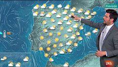 Lluvias en el norte y despejado en el resto