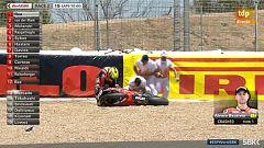 Superbike: Bautista se cae en la carrera 2 de Jerez