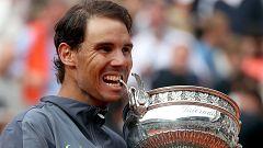 Rafa Nadal lo ha vuelto a hacer y ya son doce Roland Garros