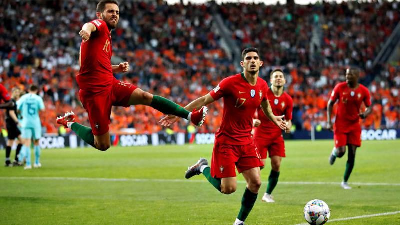 Portugal se alzó como primer campeón de la Liga de las Naciones sin necesidad de recurrir a su capitán y máxima estrella, Cristiano Ronaldo, que volvió a quedarse con las ganas de ser protagonista en la consecución de un trofeo internacional. Un soli
