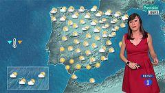 Lluvias en el Cantábrico y Cataluña, despejado en el resto