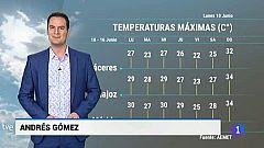 El tiempo en Extremadura - 10/06/19