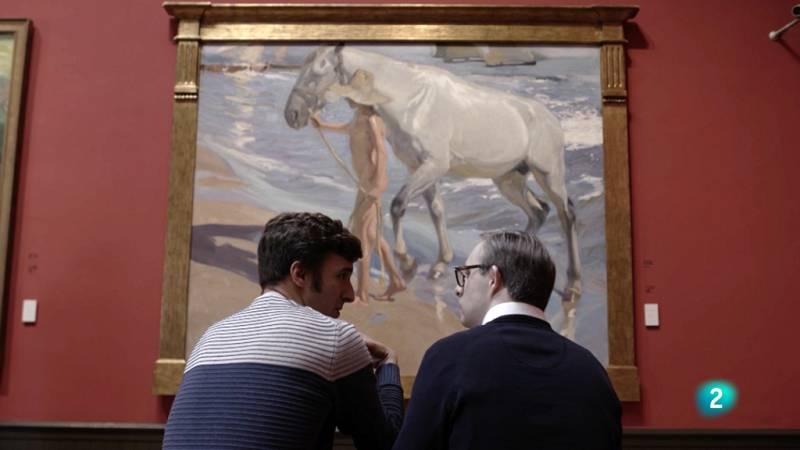 De seda y hierro - Visita la Museo Sorolla con Óscar