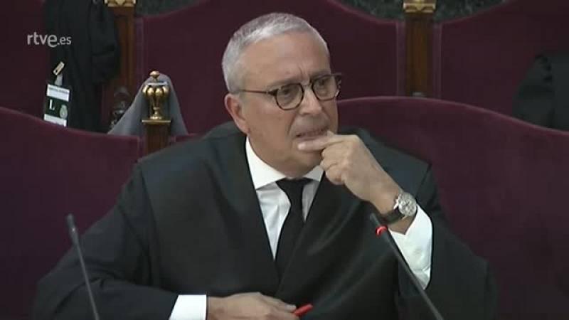 El abogado de Forn asegura que el Govern no declaró la independencia y que entregó el poder con el 155