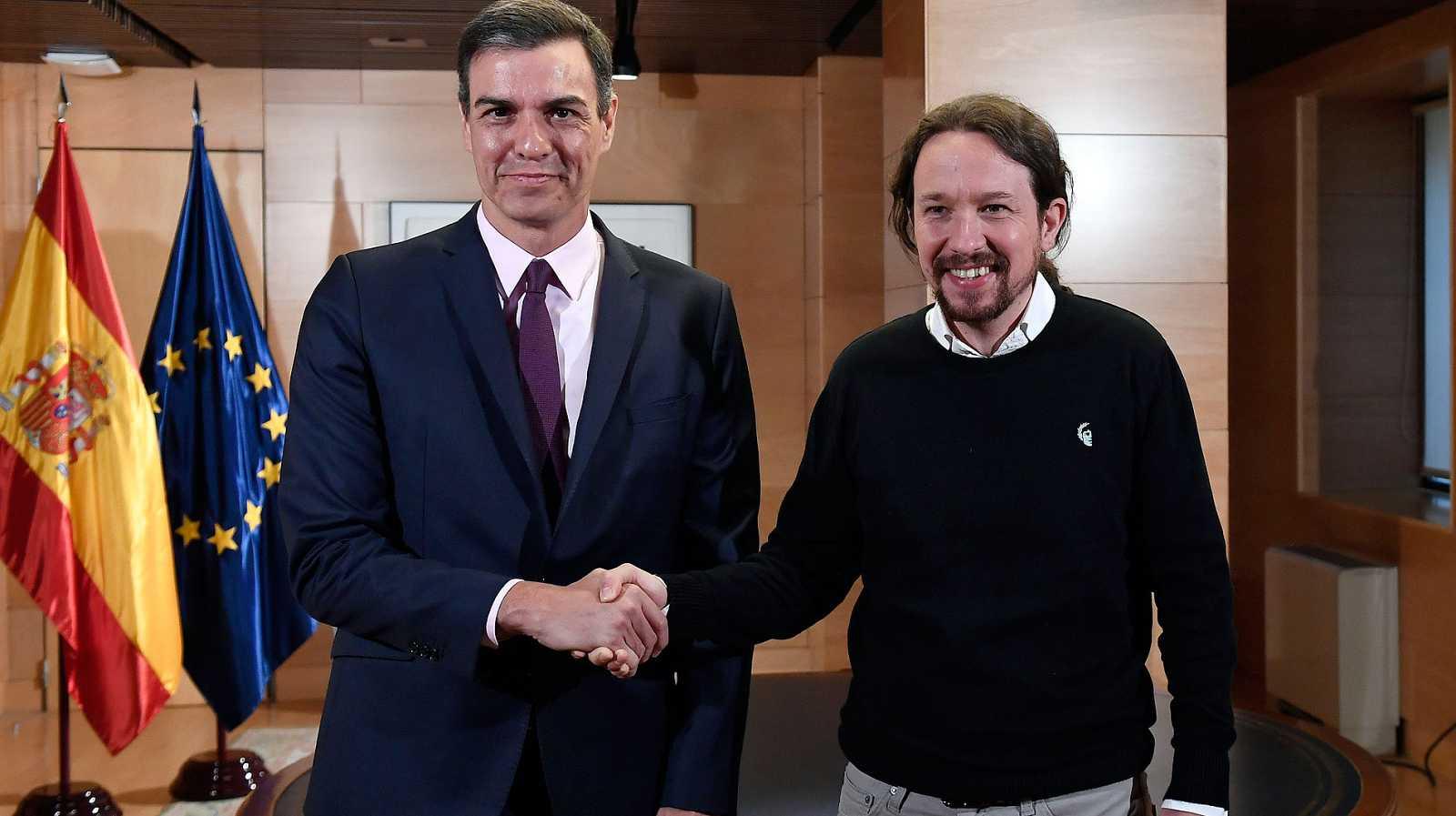 Sánchez e Iglesias negociarán un gobierno de cooperación