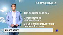 El tiempo en Andalucía - 11/06/19