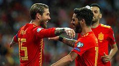 España logra el pleno de victorias y lidera el grupo F