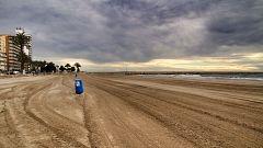 Cielos nubosos y precipitaciones en el norte, nordeste y Comunidad Valenciana