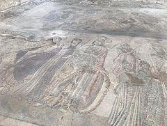 España Directo - Mayor mosaico figurativo del Imperio Romano enconcontrado en un salón privado