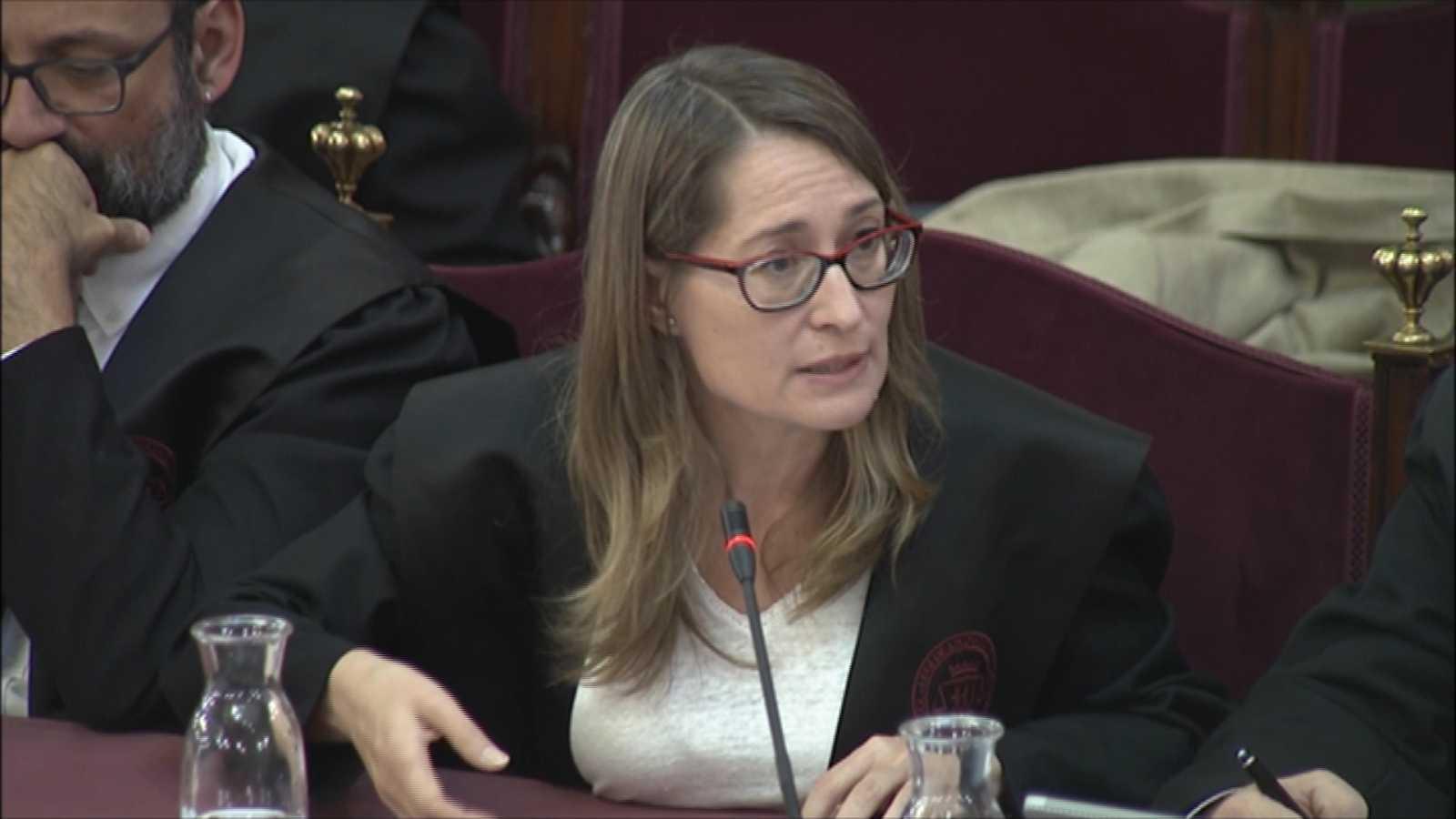 """La abogada de Cuixart niega la rebelión y la sedición porque solo se produjeron """"incidentes puntuales"""""""
