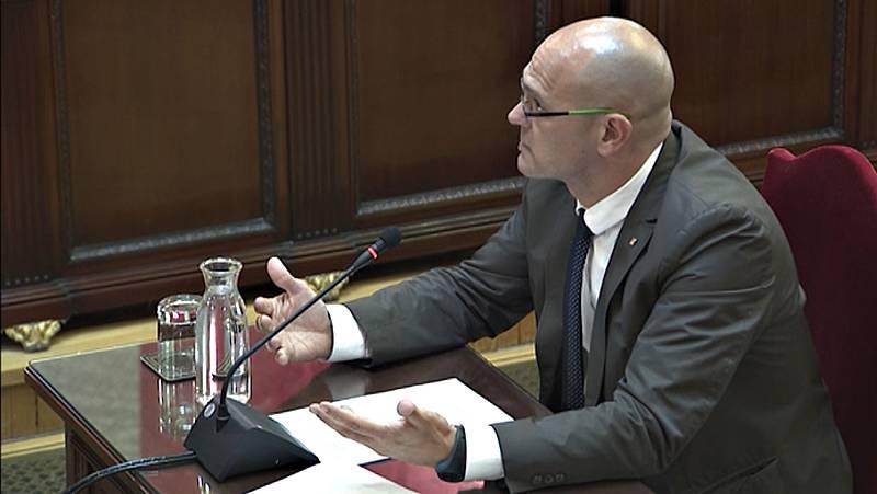 """Romeva señala a los jueces del procés en su última palabra que su sentencia es """"una oportunidad"""" para el diálogo"""