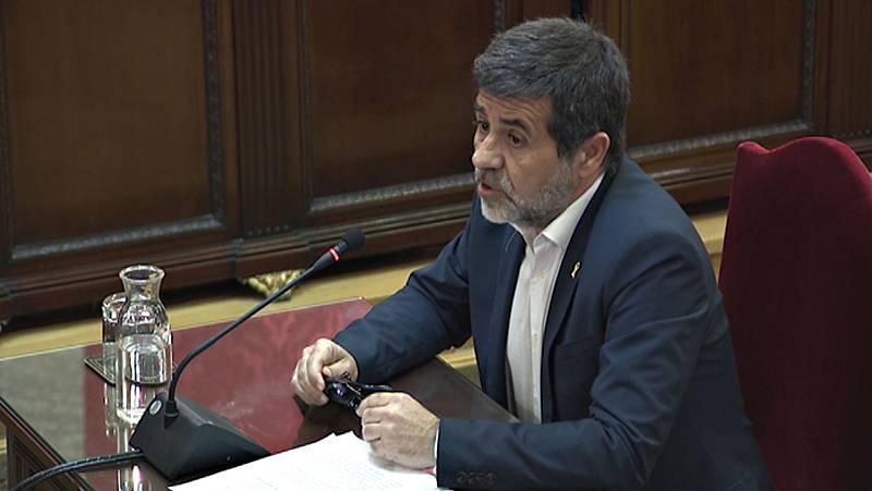 """Jordi Sànchez, a los jueces del procés en su última palabra: """"Ustedes pueden no agravar la crisis política"""""""