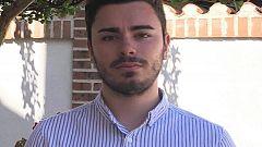 El alcalde más joven de España, Jaime Gutiérrez, está en Guadalajara