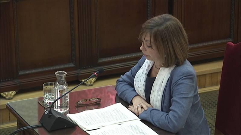 """Borràs asegura en su alegato final que que la Constitución reconoce la existencia de """"voluntades nacionales"""" como la catalana"""