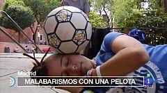 España Directo - Paloma Pujol, campeona de Footbag
