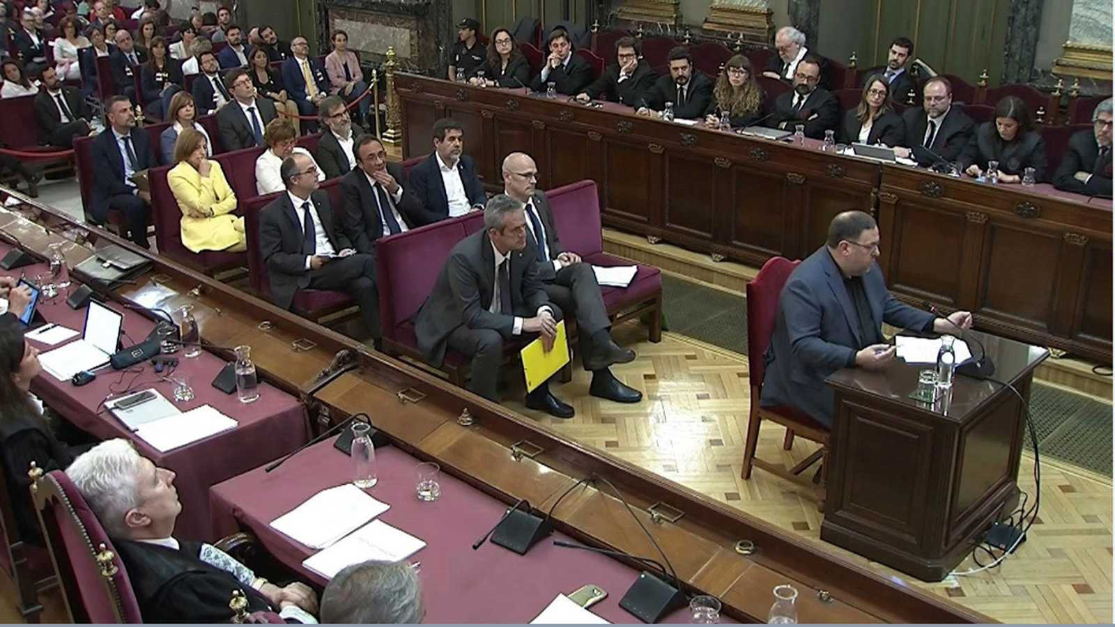 """Oriol Junqueras: """"Lo mejor para todos sería devolver la cuestión al terreno de la política"""""""