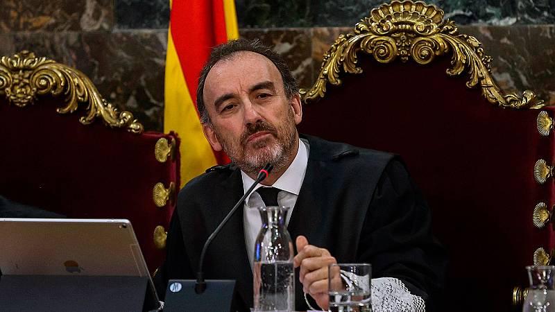 Marchena, protagonista en el juicio del 'procés'