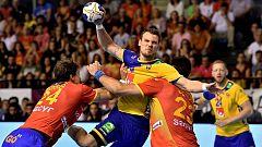 Balonmano - Europa Cup de Selecciones 2018/19 5ª jornada: España - Suecia