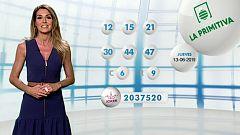 Lotería Nacional + La Primitiva + Bonoloto - 13/06/19