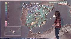 Ascenso térmico en el Mediterráneo y chubascos en el este peninsular, Galicia y Navarra