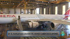 En el hangar más grande del mundo