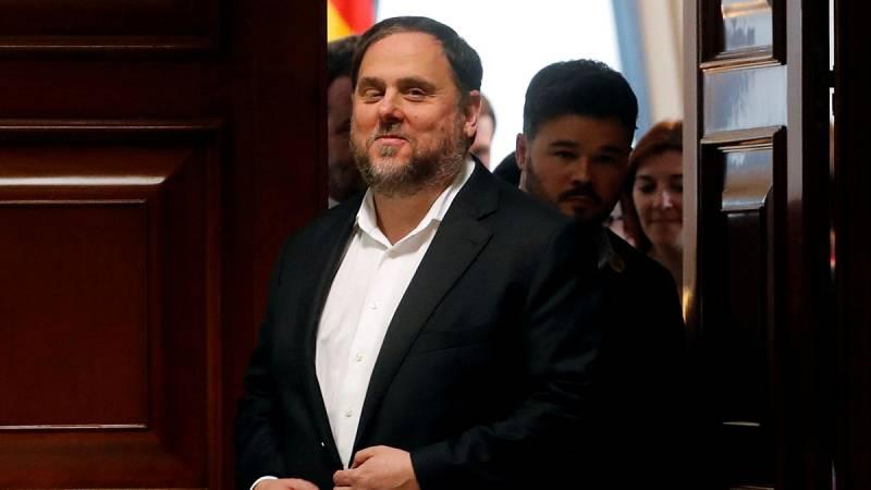 El Supremo rechaza que Junqueras salga de prisión para recoger al acta de eurodiputado