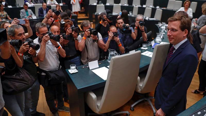 Almeida, elegido alcalde de Madrid con los votos de Ciudadanos y Vox