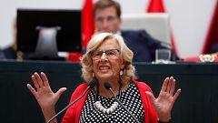 Carmena se despide con un alegato a favor del feminismo y la democracia