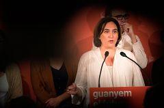 Colau intentará revalidar su cargo como alcaldesa de Barcelona con los apoyos de PSC y Valls