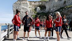 La selección española se relaja antes del partido ante China