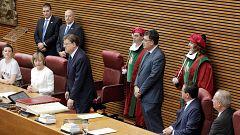 Ximo Puig defiende en su toma de posesión la cultura de pactos como mejor modelo de gobierno