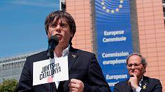 La Junta Electoral deja vacantes los escaños de Puigdemont, Junqueras y Comín en el Parlamento europeo