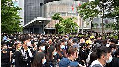 Aumentan las protestas contra la jefa del Gobierno en las calles de Hong Kong