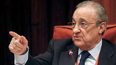 """Florentino Pérez se dice """"consternado"""" por lo ocurrido en el almacén de gas Castor"""